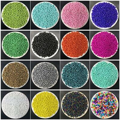 500pcs 3mm Charm Czech Glass Seed Spacer Beads DIY Bracelet Necklace Jewelry Mak