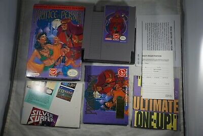 Prince Of Persia (Nintendo NES) Complete in Box w/ Reg Card GREAT