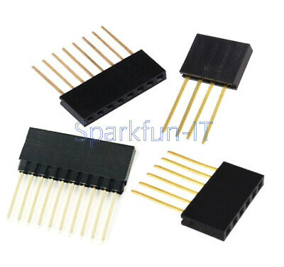 6/8/10 Pins Stackable Header Pins for Arduino Shield UNO MEGA DUE 2.54mm pitch