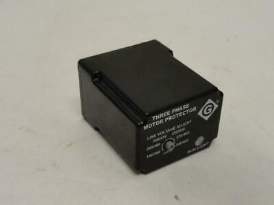 177632 Old-Stock, Greenlee 5201 Motor Protection Relay, 3Ph, 190-480VAC
