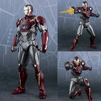 S.H.Figuarts Marvel Spider-Man Homecoming Iron Man MK47 Action Figure SHF Toys