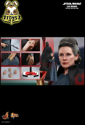 Hot Toys 1/6 MMS459 Star Wars The Last Jedi: Leia Organa_ Box _Movie Now HT406Z