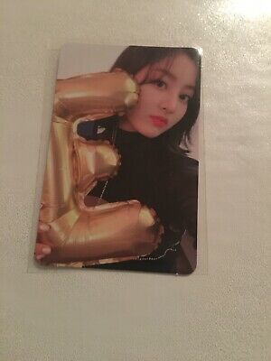 TWICE YES OR YES JIHYO PHOTOCARD official
