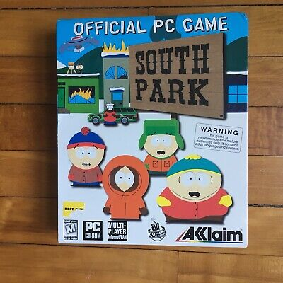 SOUTH PARK OFFICIAL PC Organizer (PC CD) and Cartman Figure