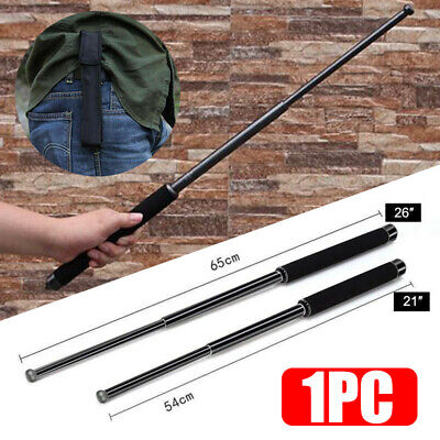 """21""""26"""" Telescopic Stick Retractable Collapsible Expandable Outdoor Tools Secure"""