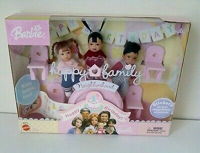 Barbie Happy Family Neighbourhood Baby Friends 2003 Mattel