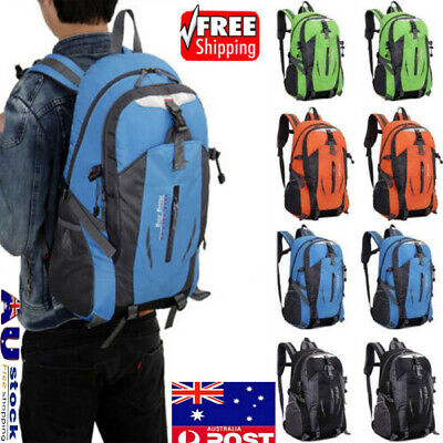 50L Unisex Rucksacks Backpack Waterproof Hiking Camp Trekking School Bags pack