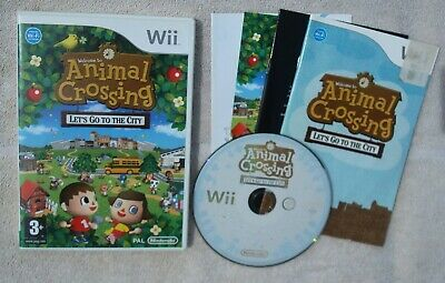 Animal Crossing: Let's Go to the City -- Nintendo Wii Game / PAL