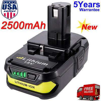 For Ryobi One+ P107 18 Volt Lithium Ion 18V Compact Battery Pack P108 P104 P102