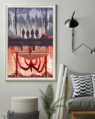 Stranger Things Hawkins Middle School 12-48'' Portrait Paper Poster No Frame