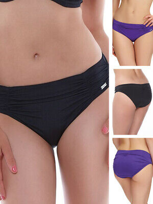Fantasie Los Cabos Bikini Brief Mid Rise 6155 Gathered Lined Bottoms