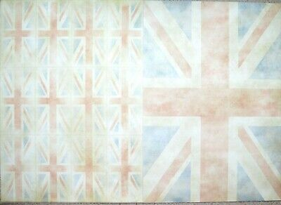 4 x A4 Backing Card 250gsm Large or Small Union Jack Card NEW