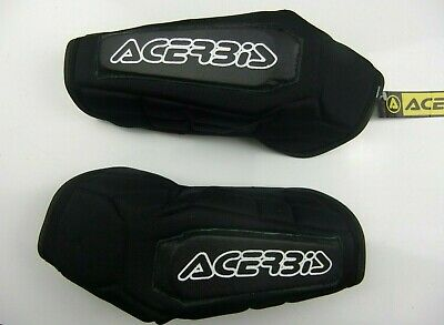 New Acerbis Adult Elbow Pads Guards Protective MTB Motocross Cycle Enduro Trials