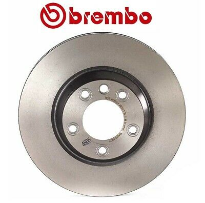 For Audi Porsche VW Front Passenger Right Vented Brake Rotor ATE COATED SP34124