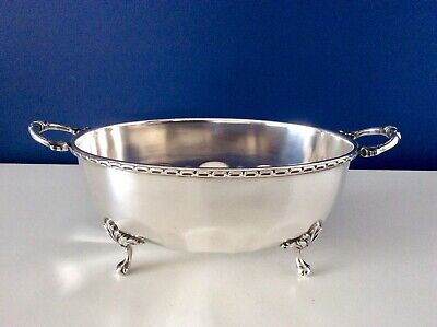 Superb Art Nouveau Silver Plated Footed Vegetable Tureen ALEX CLARK London C1912