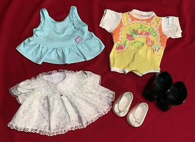 7aaeb9efe108e LOT OF VINTAGE Cabbage Patch Kids Doll Clothes And Shoes ~ CPK