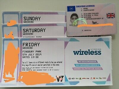 Wireless Weekend Ticket 2019 Friday, Saturday And Sunday