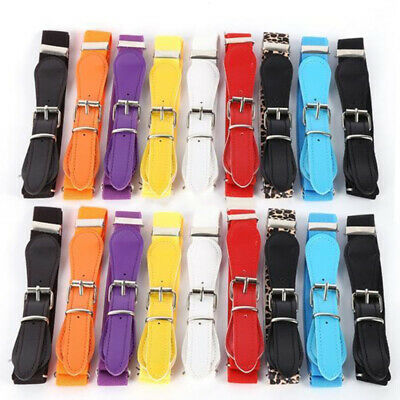 Belt Children Elastic Girls Stretchy Leather Skinny Candy Color Childrens