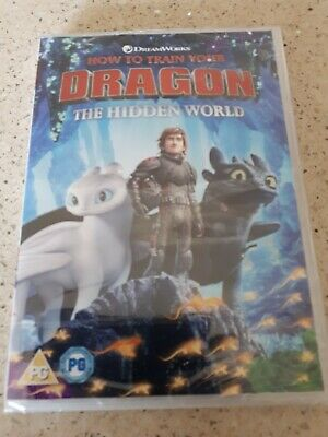 Dvd how to train your dragon 3 the hidden world new and sealed.
