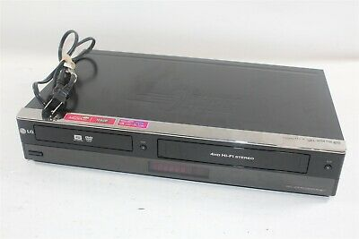 LG RC897T Super Multi-Format HDMI VHS DVD VCR Combo Recorder w/ Power Cable