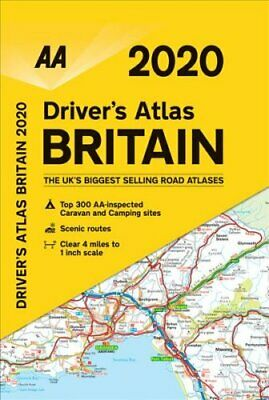 AA Big Road Atlas Britain 2020 9780749581282 | Brand New | Free UK Shipping