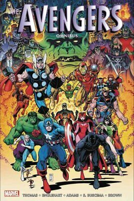 The Avengers Omnibus Vol. 4 by Roy Thomas 9781302915346 | Brand New