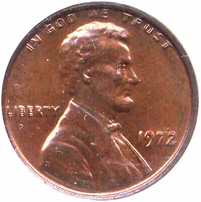 1972 1C Doubled Die Obverse MS62RB NGC - Lincoln Modern/memorial Penny++