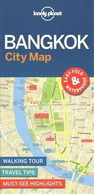 Lonely Planet Bangkok City Map by Lonely Planet 9781786579133 | Brand New