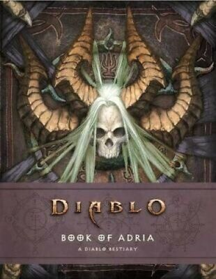 Diablo Bestiary - The Book of Adria by Robert Brooks 9781789091311 | Brand New