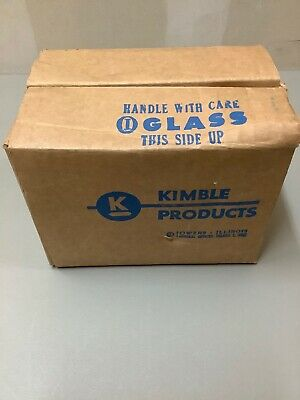 Kimble Products Kimax Beakers With Printed Graduations #14000 12  30 ML Beakers