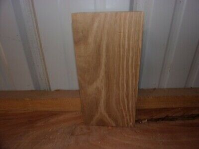 """1 Pc White Oak Lumber Wood Air Dried Board 1 3/4"""" Thick 462A Carving Block Flat"""