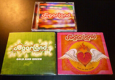 """(2) SUGARLAND CD Lot >>> """"Enjoy The Ride"""" & """"Gold And Green"""" -GREAT SHAPE-"""