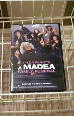 Tyler Perry's A Madea Family Funeral DVD 2019.