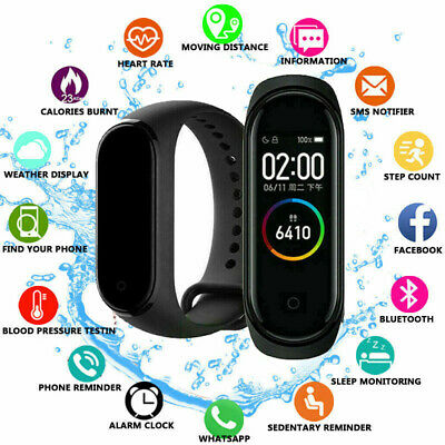 Xiaomi Mi Band 4 BT 5.0 Musik Smart Armband Herzfrequenz Globale Version DE