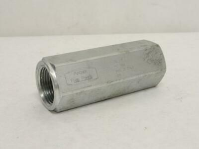 181085 Old-Stock, Anchor CN1-1-7 Hydraulic Check Valve, 1FNPT, 5000PSI
