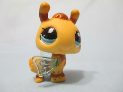 Littlest Pet Shop 2203 Yellow Brown Bumble Bee Blue Eyes Authentic Lps