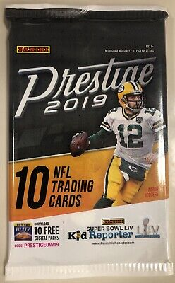 Case Hit! #d BLUE CHIP ROOKIE PARALLEL! Hot Pack 2019 Panini Prestige Football