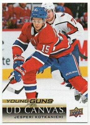 2018-19 Upper Deck Series 2 Canvas Veteran / Young Guns Rookie RC Pick Any