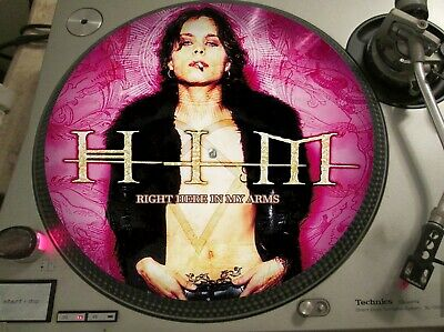 "HIM - Right Here In My Arms (Razorblade Romance) Mega Rare 12"" Picture Disc LP"