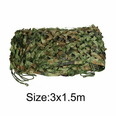 Woodland Camouflage Netting Military Army Camo Hunting Shooting Hide Cover Net H