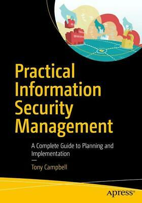 Tony Campbell / Practical Information Security Management9781484216842
