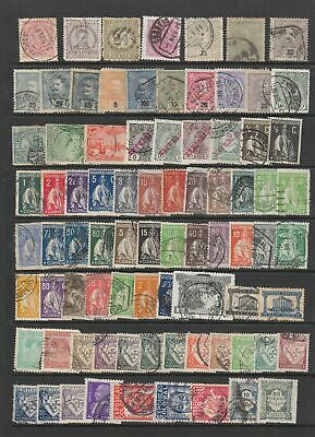 Portugal early collection 81 stamps