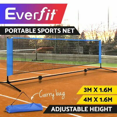 Everfit Portable Sports Net Multi Sport Netting Badminton Volleyball Tennis 3/4M