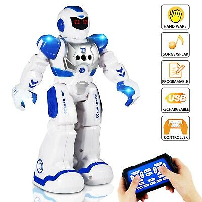 Smart Remote Control Robot Toy for Kids RC Programmable Intelligent Children Toy