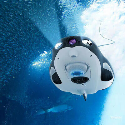 PowerVision PowerRay Pro Underwater Diving Drone Fishing 4K UHD Camera 1080P