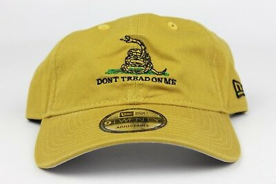 Don't Tread On Me / We The People Wicker New Era 9Twenty Strapback Dad Hat Cap