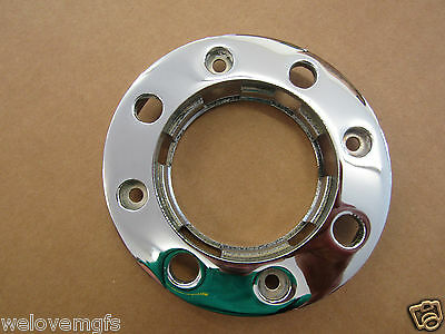 Chrome Fuel Ring Mgf Mg Tf Triple Plated Petrol Filler Cap