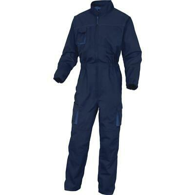 Size SMALL Delta Plus M2CO2 Hard Wearing Mechanics Boiler Suit Overalls Coverall