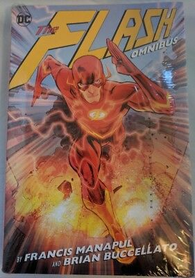 Flash Omnibus by Francis Manapul & Brian Buccellato Oversized HC Hardcover NEW