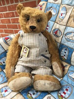 FORGET ME NOT BEAR By Liz Wiltshire. Tommie Exclusive To Teddy Bears 1 Of 1.